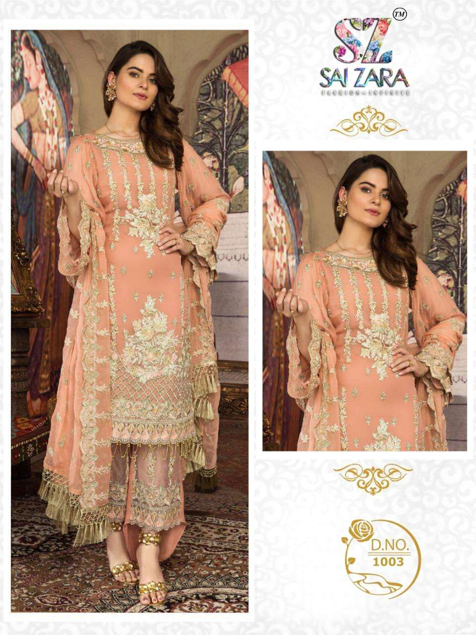 DESIGN NO.1003 SALWAR SUIT BY SAI ZARA
