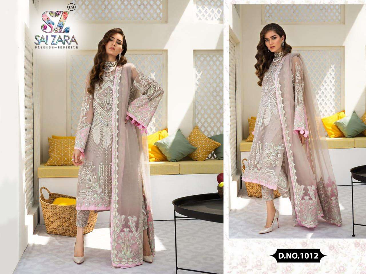 DESIGN NO.1012 SALWAR SUIT BY SAI ZARA