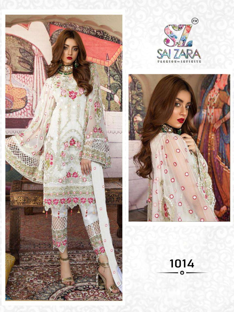 DESIGN NO.1014 SALWAR SUIT BY SAI ZARA