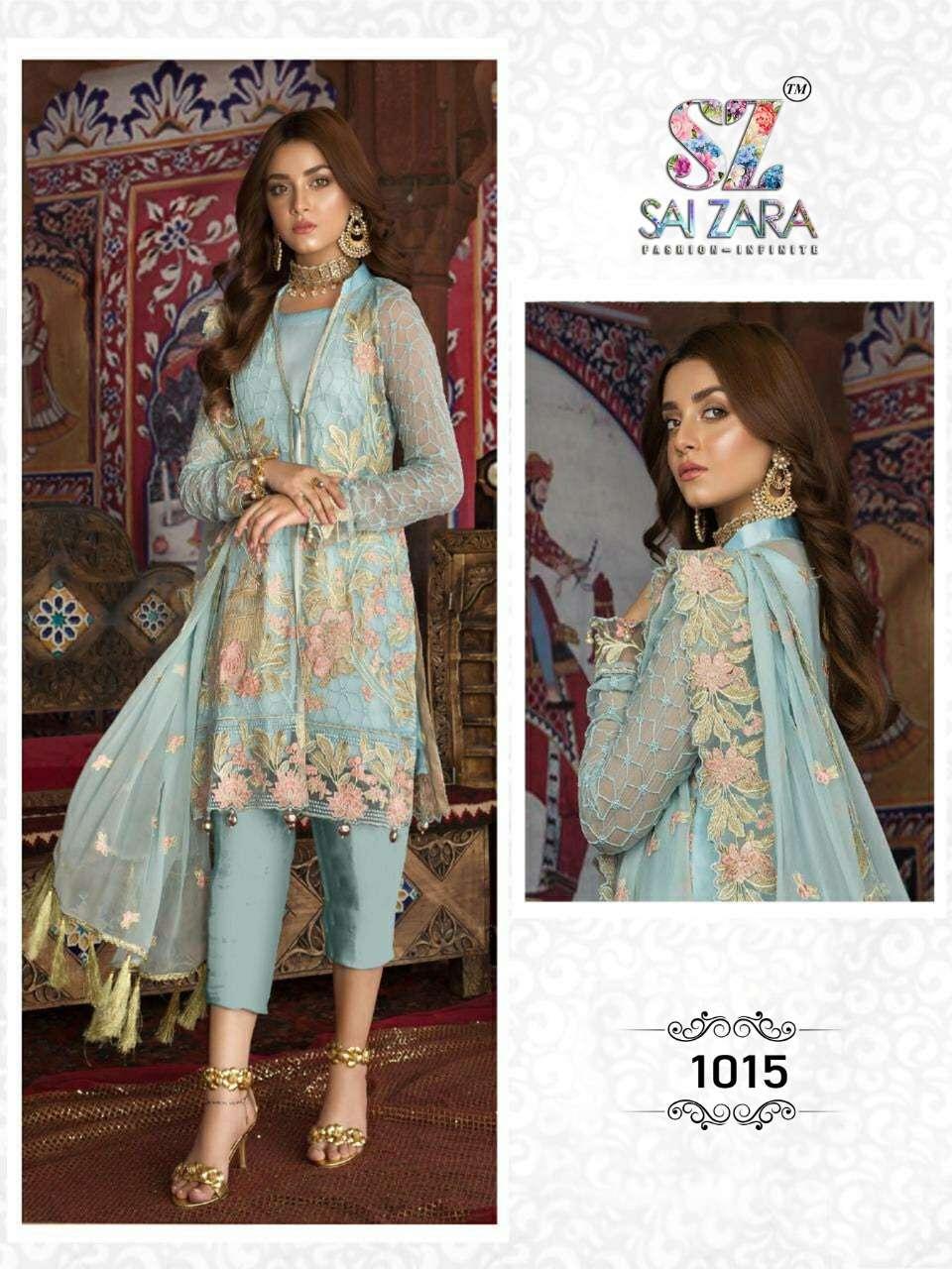 DESIGN NO.1015 SALWAR SUIT BY SAI ZARA