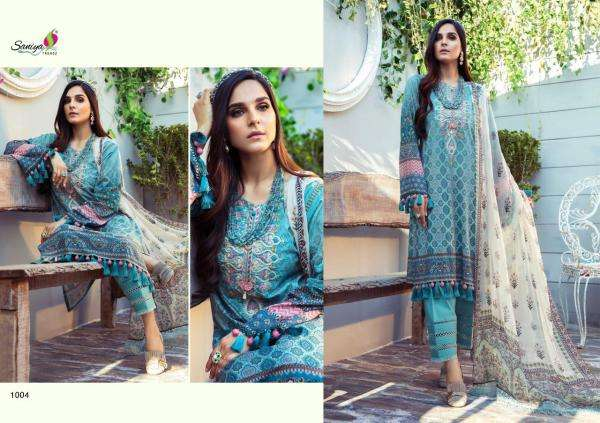 DESIGN NO. 1001 TO 1005 MARIA B TRENDZ SALWAR SUIT BY M PRINTS