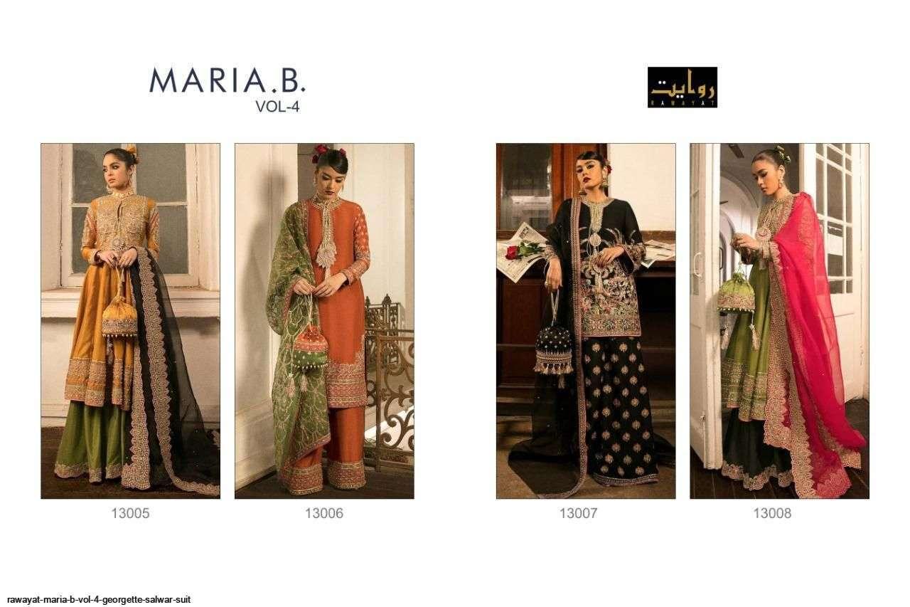 DESIGN NO. 13005 TO 13008 MARIA B VOL-4 BY RAWAYAT