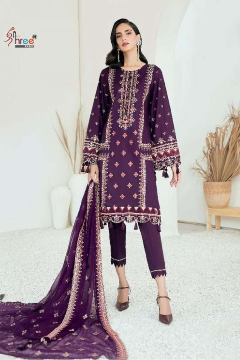 DESIGN NO. 1362 TO 1367 ALMIRAH VOL-9 BY SHREE FABS